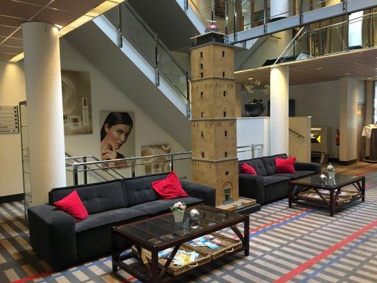 West-Terschelling, Países Bajos: Lobby met Brandaris Replica