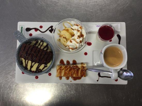 Annot, فرنسا: café gourmand