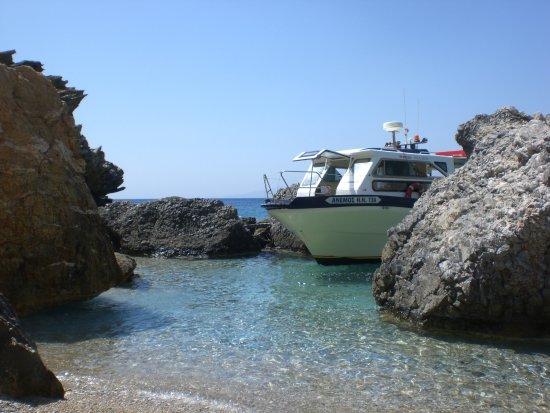 Irakleia, Grecia: Όπως αράζει το καραβάκι στην Αλιμιά
