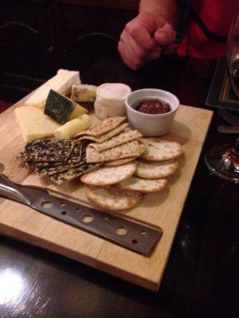 South Petherton, UK: Good variety of local cheeses.