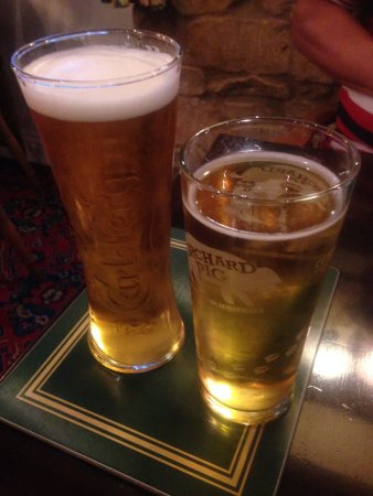 South Petherton, UK: Good selection of beer and cider