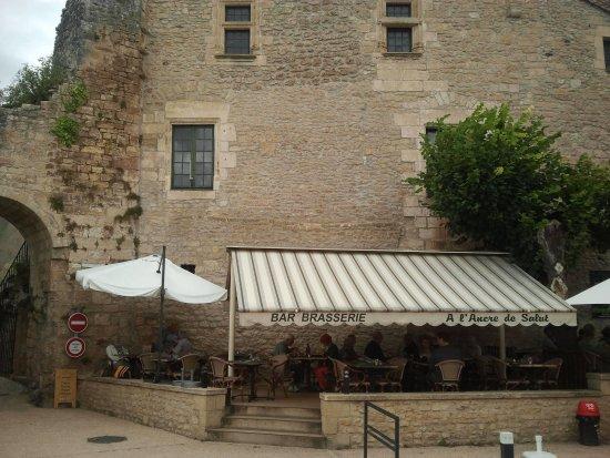 Limeuil, Frankrike: Terrasse