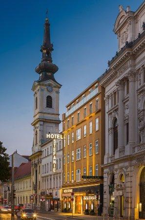 Hotel Stefanie in der Taborstraße - seit dem Jahre 1600