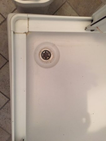 Podstrana, Kroatien: There was a LOT of mold in the showers, Shower drain was clogged, had to start the vacation with