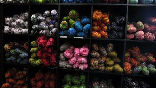 Hafnarfjordur, Ισλανδία: Randalina wool