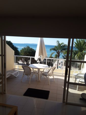 Netanya Noosa: Penthouse Balcony & Noosa Beach View.