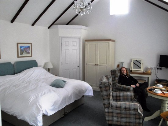 Cardigan, UK: Lovely, bright and well-furnished room at the Coach House