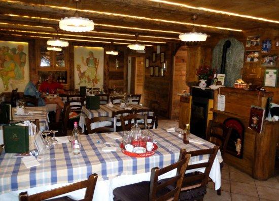 Boccioleto, Italy: Sala bar-ristorante