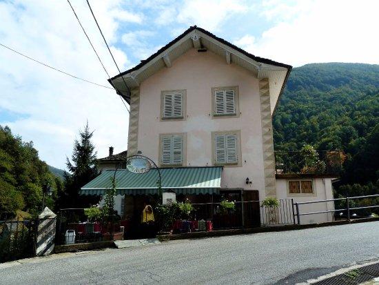 Boccioleto, Italy: Il ristorante