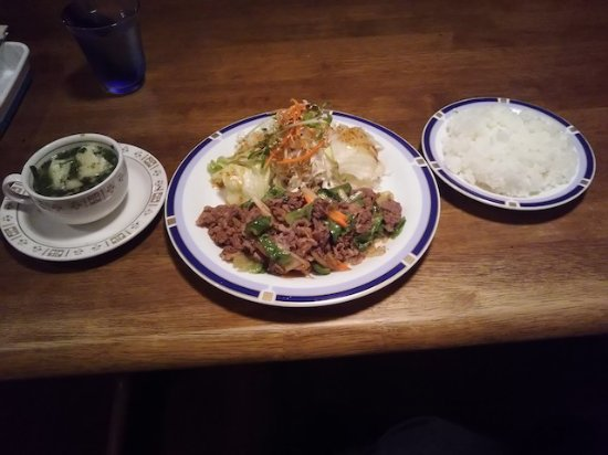 Nobeoka, Japón: 焼肉セット