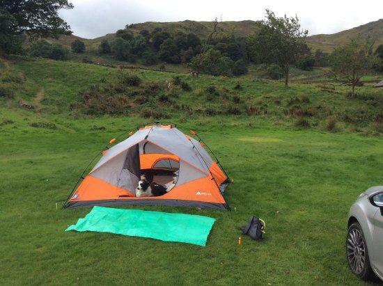 Glenridding, UK: Great tent