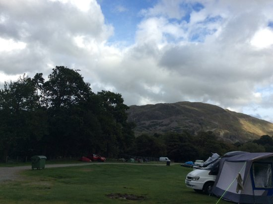 Glenridding, UK: Calm before the party animal arrived
