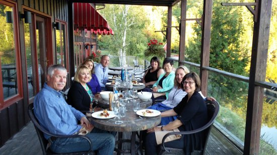 Bancroft, Canada: Dinner with friends