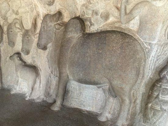 krishna mandapam carving
