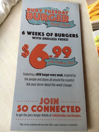 Warrenton, VA: $6.99 burger