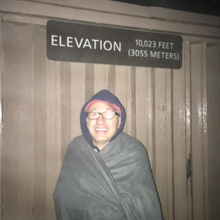 Kula, HI: It is cold up there at 5 a.m.