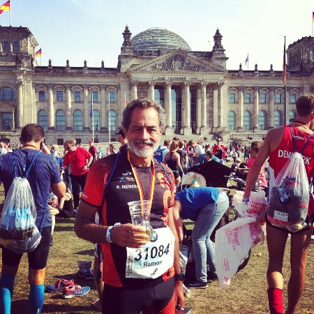 Plenarbereich Reichstagsgebäude: Tras el maratón frente al Bundestag