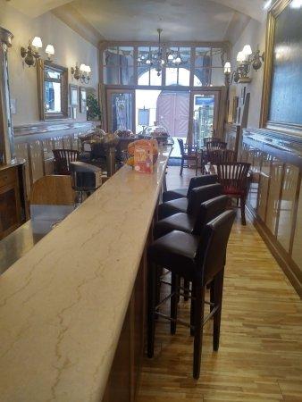 Hotel Golden deer: Coffee bar