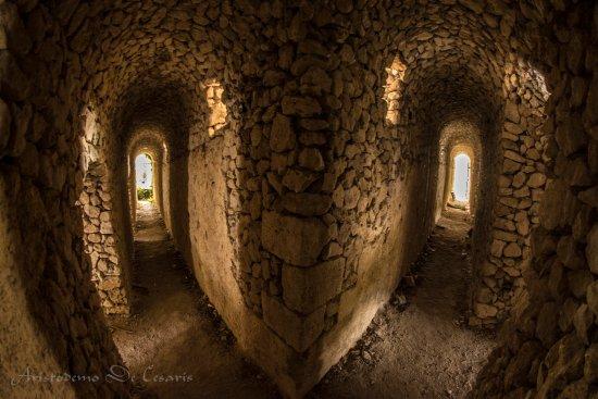 Alvito, Włochy: Nei cunicoli