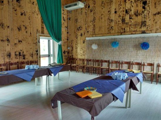 Rubiera, Italy: Allestimento sala
