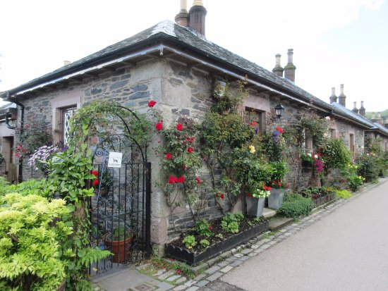Luss, UK: very colourful