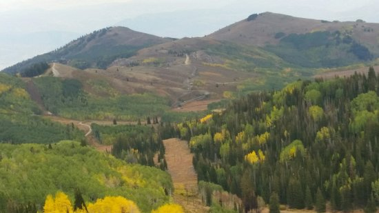 Park City, UT: From an overlook spot on Guardsman Pass