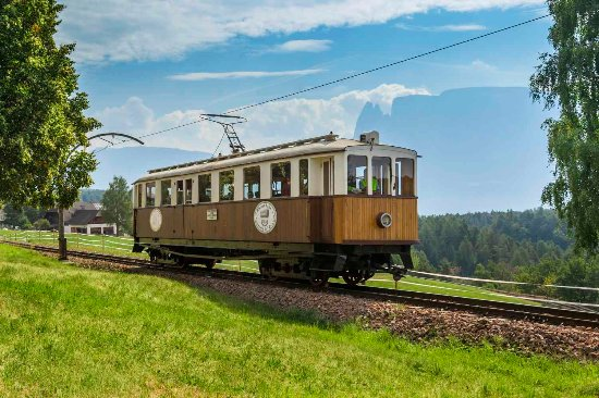 Soprabolzano, Italië: Storico trenino del Renon