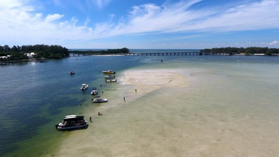 Osprey, FL: Kokomo Charters drone picture at Jewfish Key