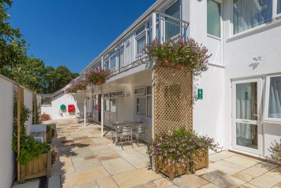 Ilex Lodge Self Catering Apartments: Ilex Lodge Entrance