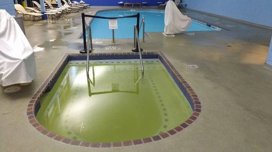 Radisson Hotel Madison : FIlthy closed hot tub. Radisson does not make reservation seekers aware of this.