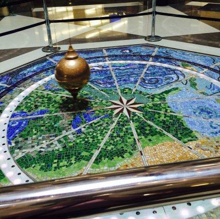 Lexington Public Library Ceiling Clock and Foucault Pendulum