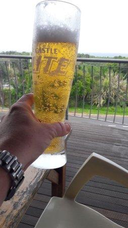 Port Shepstone, Republika Południowej Afryki: Ice cold draught beer!