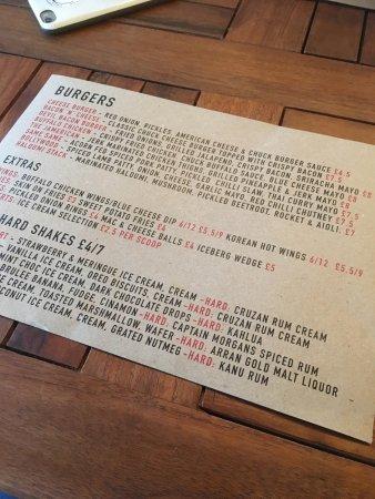 Harrow, UK: Chuck Burger Bar