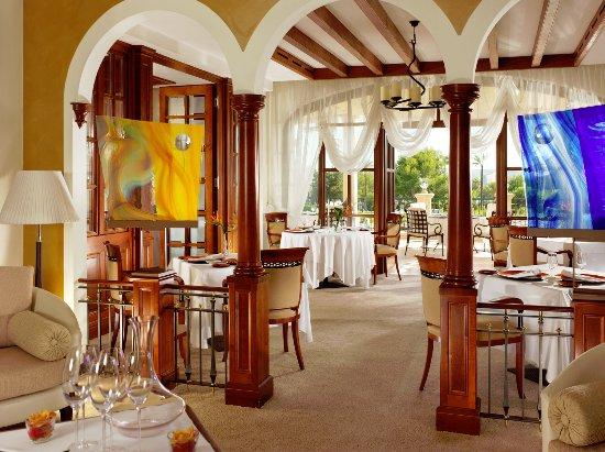 Costa d'en Blanes, Hiszpania: Michelin Star Restaurant Es Fum