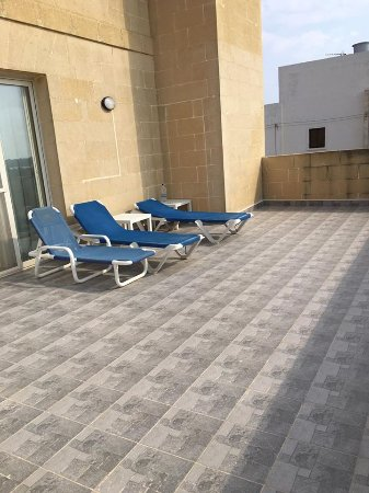 Ghasri, Malta: Terrace
