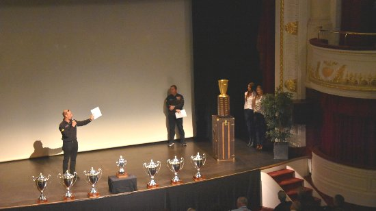 Francorchamps, Belgium: Belmal Malletier bespoke trophy casing, heralded at 24H of Spa GT Race Drivers briefing