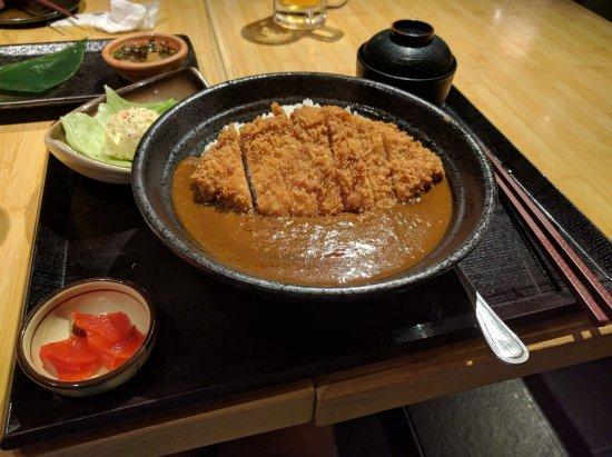 Tonkatsu Curry - Picture of Tonkachi Japanese Restaurant ...