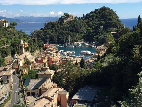 B&B Tre Mari Portofino: The view