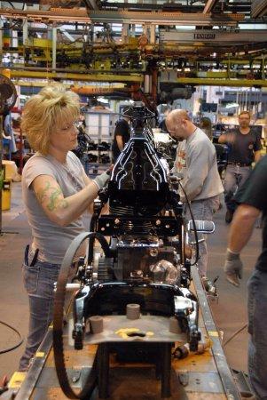 Γιόρκ, Πενσυλβάνια: Harley-Davidson York Operations Factory Tour