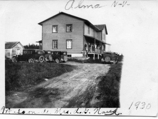 Almatoit Gîte : La maison en 1930