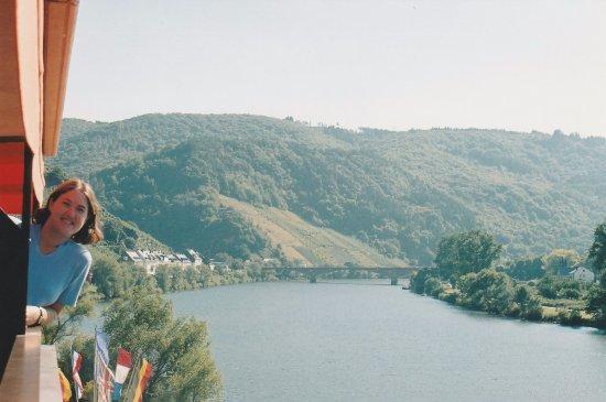 Beautiful View from Hotel Weinhaus Mayer!