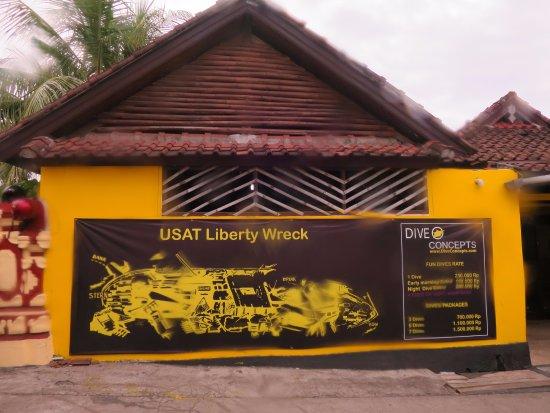 Tulamben, Indonesië: Le centre