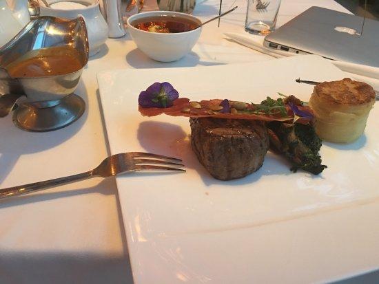 Klub Sosnowy w Businessman Institute: Lovely food