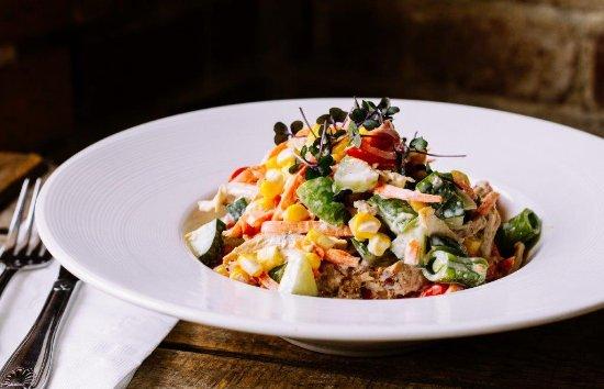 Enumclaw, Вашингтон: Pulled Chicken Salad