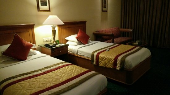 MK Hotel Amristar: Delux room interior.