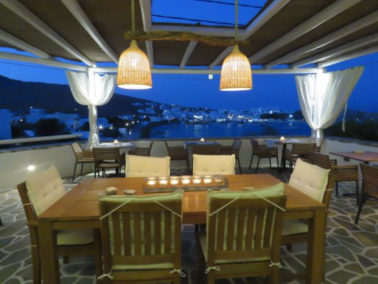 Karavostasis, Grecia: Το εστιατόριο Veggera