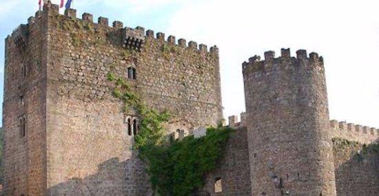 Arenas de San Pedro, Espagne : Fachada lateral