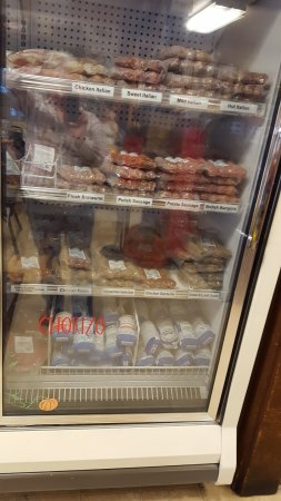 Chico, Kalifornien: Freezer section