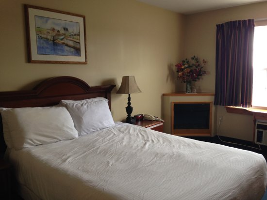 Stanley Bridge, Kanada: room not up to an over $200 a night standard