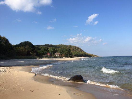 stenshuvud strand
